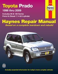 Toyota Prado 1996-2009 Repair Manual Petrol & Diesel (Incl Hilux Surf & 4Runner Mechanicals)