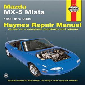 Maxda MX5 Miata 1990-2009 Repair Manual 1.6 1.8 & 2.0