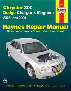 Chrysler 300 Dodge Charger & Magnum 2005-09 Repair Manual Petrol