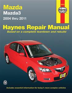Mazda 3 2004-11 Repair Manual (Import Mazda Axela)