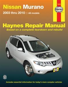 Nissan Murano 2003-2010 Repair Manual
