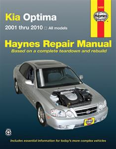 Kia Optima (NZ Magentis) 2001-10 Petrol Repair Manual