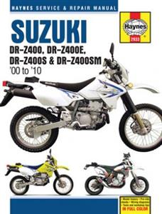 Suzuki DR-Z400 2000-10 Repair Manual