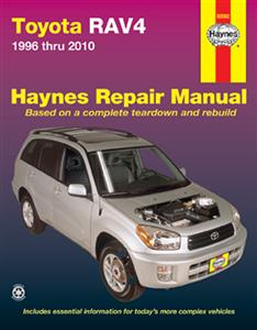 Toyota RAV4 1996-2010 Repair Manual (NZ 1994-2009)
