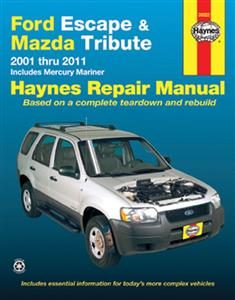 Ford Escape & Mazda Tribute 2001-11 Repair Manual