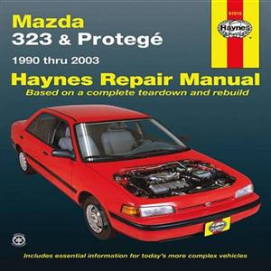 Mazda 323 & Protege 1990-03 Petrol Repair Manual