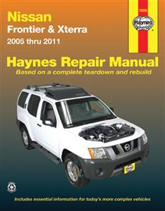 Nissan Frontier (NZ Navara) & Xterra 2005-11 Petrol Repair Manual