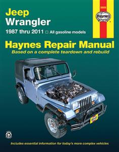 Jeep Wrangler 1987-2011 Petrol Repair Manual
