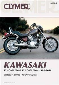 Kawasaki Vulcan 700 & Vulcan 750 1985-2006 Repair Manual