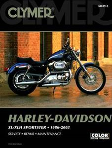 Harley Davidson XL XLH Sportster Evolution 1986-2003 Repair Manual
