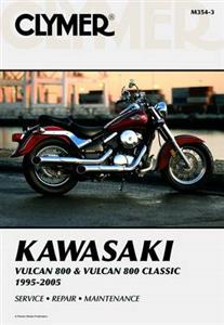Kawasaki Vulcan 800 & Vulcan 800 Classic 1995-2005 Repair Manual