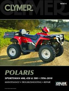 Polaris Sportsman 400 450 & 500 1996-2010 Repair Manual