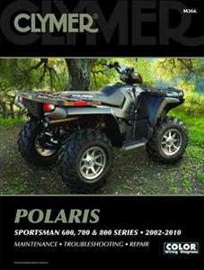 Polaris Sportsman 600 700 & 800 2002-2010 Repair Manual