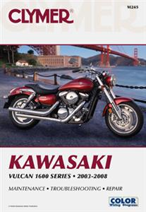 Kawasaki Vulcan 1600 Series 2003-2008 Repair Manual