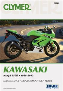 Kawasaki Ninja 250R 1988-2011 Repair Manual