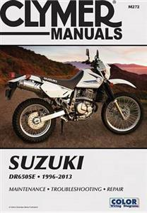Suzuki DR650SE 1996-2013 Repair Manual