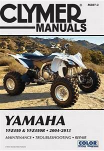 Yamaha YFZ450 & YFZ450R 2004-2013 Repair Manual