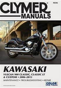 Kawasaki Vulcan 900 Classic Classic LT & Custom 2006-13 RePair Manual