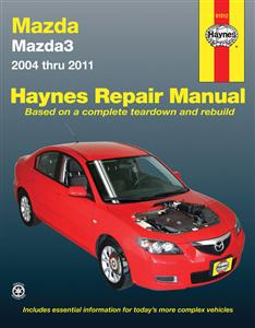 Mazda 3 2004-12 Repair Manual (Import Mazda Axela)