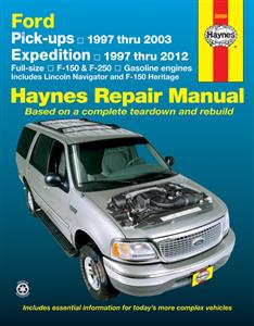 Ford F-150 & F-250 Pickups 1997-2003 And Expedition 1997-2012 Repair Manual Incl Lincoln Navigator