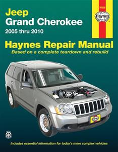 Jeep Grand Cherokee 2005-10 Repair Manual Petrol