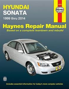 Hyundai Sonata 1999-2014 Repair Manual - 2.4 4 Cyl, 2.5 2.7 3.3 V6