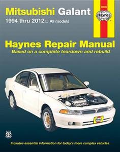 Mitsubishi Galant 1994-2012 Repair Manual 2.4, 3.0, 3.8