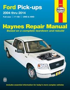 Ford F-150 Pickups 2004-2014 Repair Manual Petrol