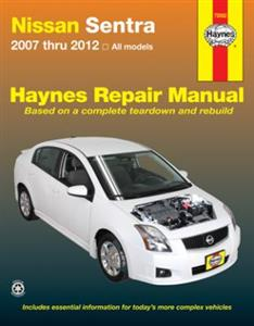 Nissan Sentra (US market) 2007-12 Repair Manual
