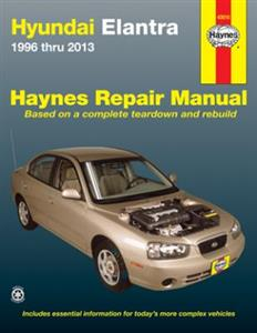 Hyundai Elantra 1996-2013 Repair Manual