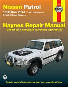 Nissan Patrol GU 1998-2014 Repair Manual Petrol & Diesel