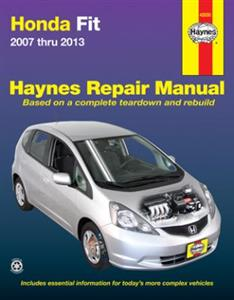 Honda Fit/Jazz 2007-13 Repair Manual