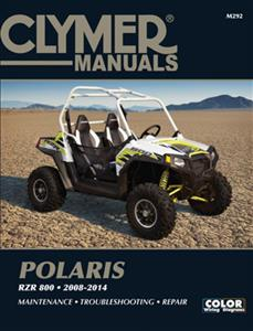 Polaris RZR 800 2008-2014 Repair Manual