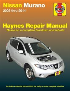 Nissan Murano 2003-2014 Repair Manual