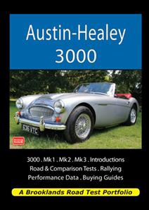 Austin Healey 3000 Road Test Portfolio