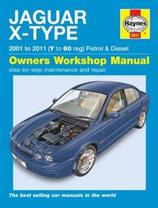 Jaguar X-Type 2001-11 Petrol & Diesel Repair Manual