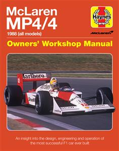 McLaren MP4/4 Owners' Workshop Manual - a Guide to Design, Construction, Operation