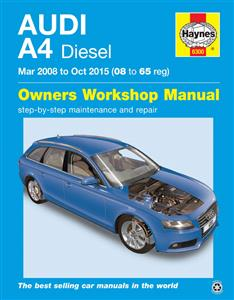 Audi A4 2008-15 Repair Manual Diesel