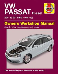 Volkswagen Passat Diesel 2010-14 Repair Manual