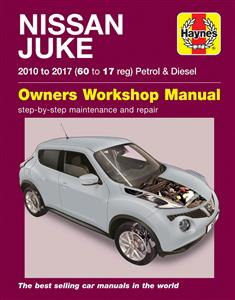 Nissan Juke 2010-17 Repair Manual Petrol & Diesel