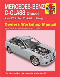 Mercedes Benz C Class Diesel 2007-15 DUE END OF 2017