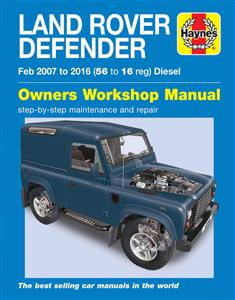 Land Rover Defender Diesel 2007-16 Repair Manual DUE NOV 2017
