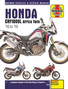 Honda CRF1000L Africa Twin 2016-19 Repair Manual DUE MID 2019