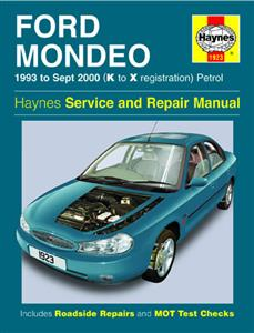 Ford Mondeo 1993-2000 Petrol Repair Manual NOT ST24 or 4WD