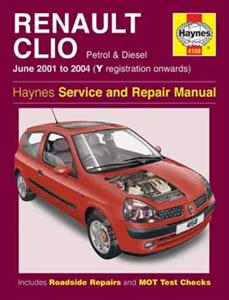 Renault Clio 2001-04 Repair Manual Petrol & Diesel