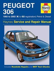 Peugeot 306 1993-2002 Repair Manual Petrol & Diesel