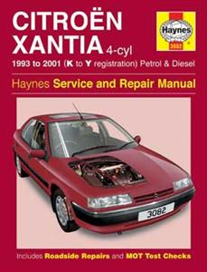 Citroen Xantia 1993-2001 Repair Manual Petrol & Diesel