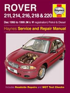 Rover 211 214 216 218 220 1995-99 Repair Manual Petrol & Diesel