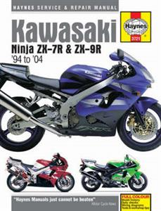 Kawasaki Ninja ZX-7R ZX750 And ZX-9R ZX900 1994-2004 Repair Manual