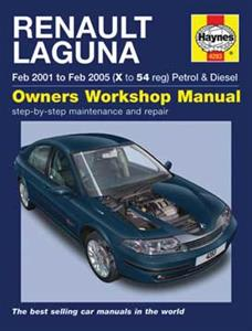 Renault Laguna 2000-07 Repair Manual Petrol & Diesel